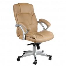 BX-5786 Fotel biurowy Beżowy