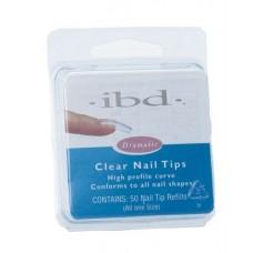 Tipsy clear Rozmiary od 1 do 10, 50szt IBD