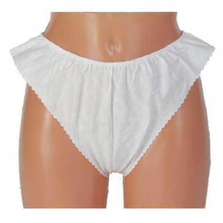 Majtki figi kosmetyczne włókninowe białe 10szt