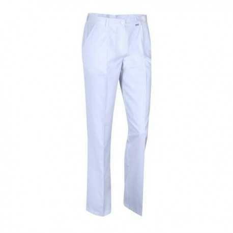 Spodnie kosmetyczne białe rozm.40