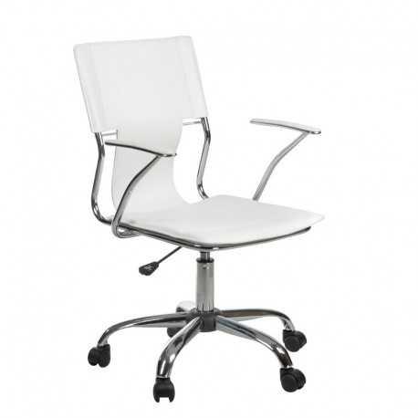 BX-2015 Fotel biurowy Biały