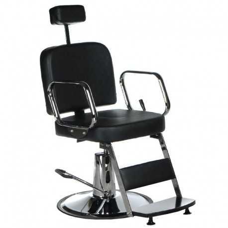 BD-2002 Fotel dla golibrody AXEL Czarny