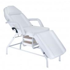 BW-262 Fotel kosmetyczny z kuwetami Biały
