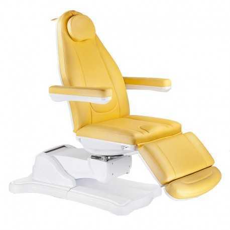 Mazaro BR-6672 Elektryczny fotel kosmetyczny Miodowy