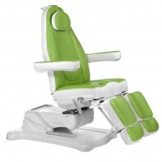 Mazaro BR-6672C Elektryczny fotel kosmetyczny Zielony