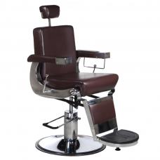BD-2121 Fotel dla golibrody LUMBER Brązowy
