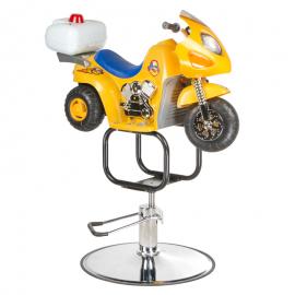 Dziecięcy fotel fryzjerski BW-604 Żółty