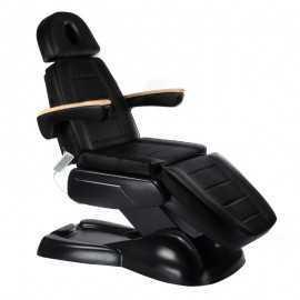 Elektryczny fotel kosmetyczny LUX BW-273B Czarny