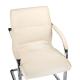 BX-3346 Krzesło konferencyjne / do poczekalni Kremowe