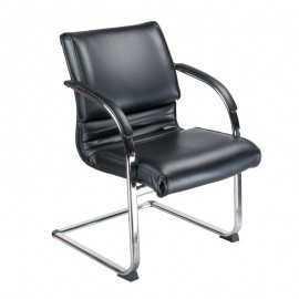BX-3339B Krzesło konferencyjne / do poczekalni Kremowe