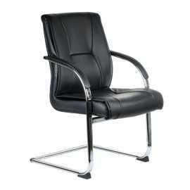 BX-3345 Krzesło konferencyjne / do poczekalni Kremowe