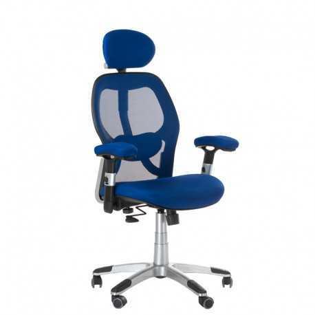 BX-4144 Fotel biurowy Niebieski