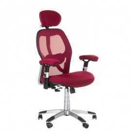 BX-4144 Fotel biurowy Czerwony