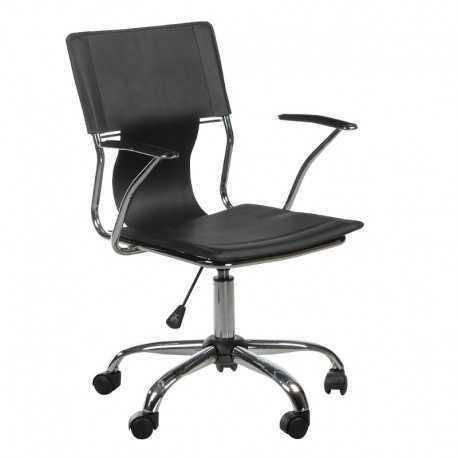 BX-2015 Fotel biurowy Czarny