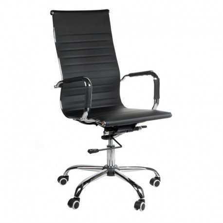 BX-2035 Fotel biurowy Czarny