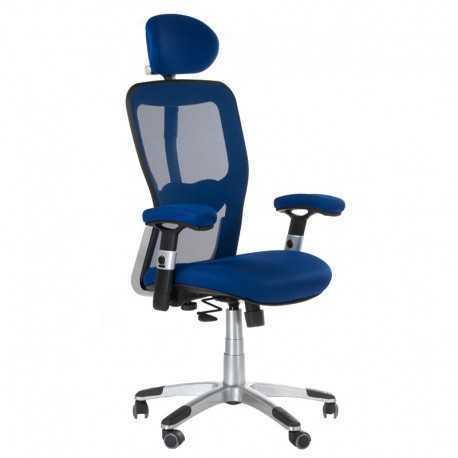 BX-4147 Fotel biurowy Niebieski