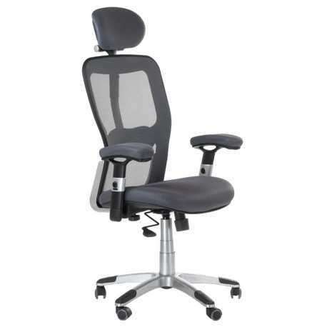 BX-4147 Fotel biurowy Szary