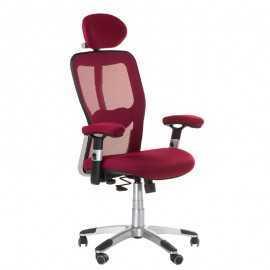 BX-4147 Fotel biurowy Czerwony