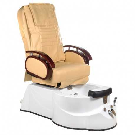 BR-3820D Fotel Pedicure SPA Beżowy