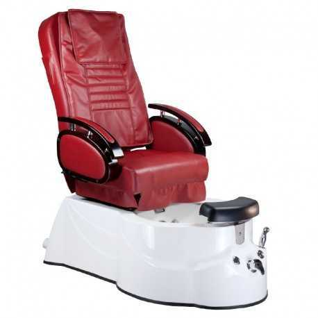 BR-3820D Fotel Pedicure SPA Bordowy