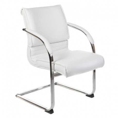 BX-3339B Krzesło konferencyjne / do poczekalni Białe