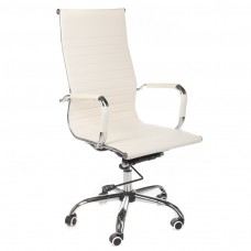 BX-2035 Fotel biurowy Kremowy