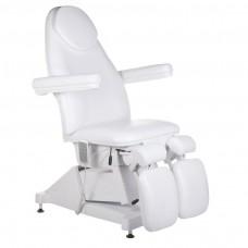Fotel kosmetyczny / pedicure AMALFI Biały