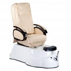 BR-3820D Fotel Pedicure SPA Kremowy
