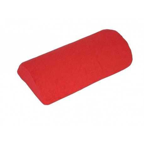 Pokrowiec frotte na poduszkę do manicure Czerwony