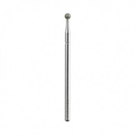 Frez diamentowy do skórek i płytki fi 2,5mm kulka