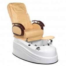 Fotel do pedicure z masażem BR-2307 Beżowy