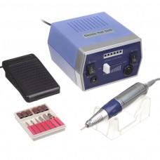Frezarka do manicure JD700 Niebieska + zestaw frezów