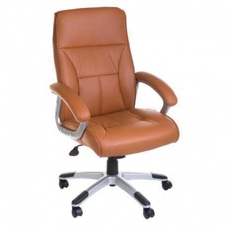 Fotel biurowy BX-5085B Brązowy
