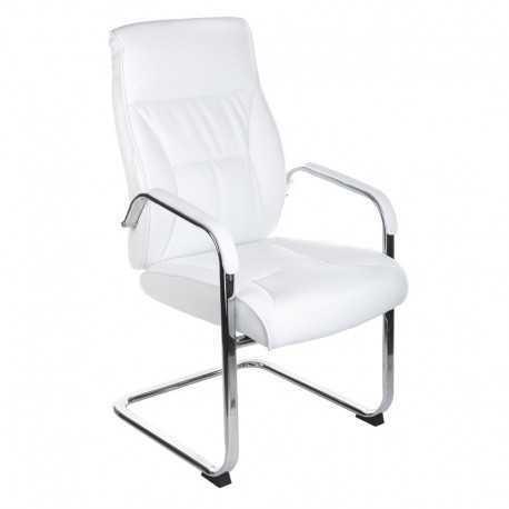 Fotel konferencyjny BX-5085C Biały