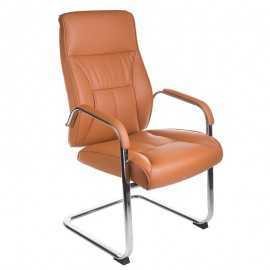 Fotel konferencyjny BX-5085C Brązowy