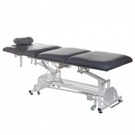 Elektryczne łamane łóżko do masażu BT-2120 szare
