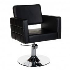 BM-6302 Fotel fryzjerski Ernesto Czarny