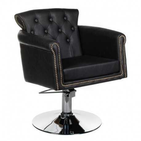 Fotel fryzjerski ALBERTO czarny