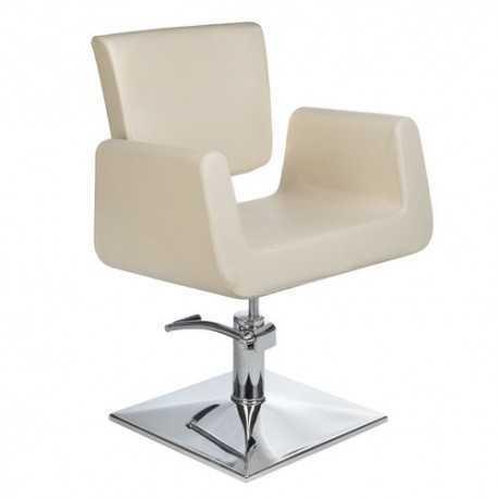 Fotel fryzjerski Vito Kremowy