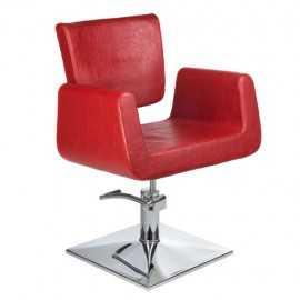 Fotel fryzjerski Vito Czerwony