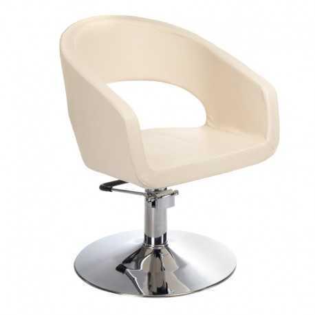 Fotel fryzjerski Paolo Kremowy