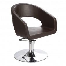 Fotel fryzjerski Paolo Brązowy