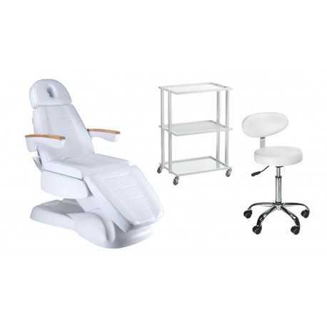 Fotel elektryczny BW-273B + Taboret BD-9934 + Pomocnik BCH-5043