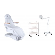 Fotel elektryczny BW-273B + Pomocnik BD-6002 + Lampa BN-205 5dpi
