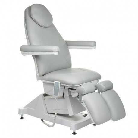 Fotel kosmetyczny / pedicure AMALFI Szary
