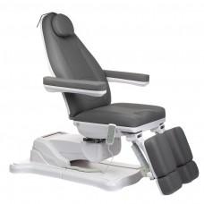 Mazaro BR-6672C Elektryczny fotel kosmetyczny Szary