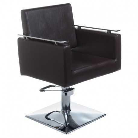 Fotel fryzjerski MILO BH-6333 brązowy