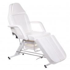 BW-263 Fotel kosmetyczny z kuwetami biały