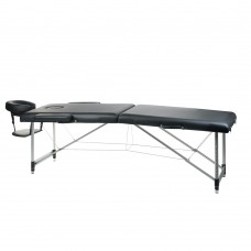 BS-723  Stół do masażu i rehabilitacji Czarny