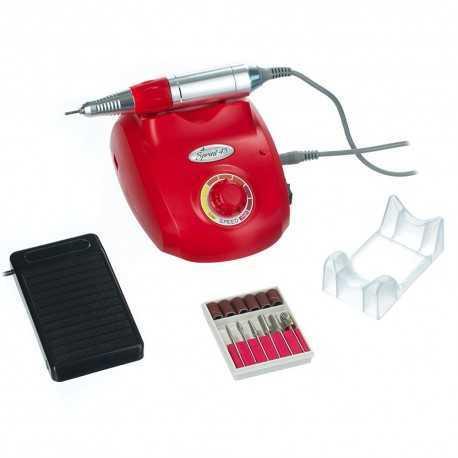 Frezarka do manicure SPRINT Czerwona